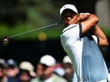 Tiger Woods in action during the third day of the PGA Championship on August 10, 2013