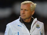 Newcastle manager Alan Pardew during a friendly with St Mirren on July 30, 2013