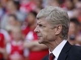 Arsenal's French manager Arsene Wenger looks on ahead of the pre-season friendly football match between Arsenal and Galatasaray on August 4, 2013