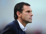 Brighton manager Gus Poyet during the match against Leicester on April 6, 2013