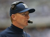 Dallas Cowboys head coach Jason Garrett on December 23, 2012
