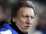Leeds manager Neil Warnock looks on prior to the npower Championship match between Derby County and Leeds United at Pride Park on December 8, 2012
