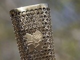 Stock image of the Olympic Torch (Getty) on April 20, 2012