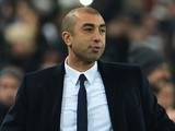 Then Chelsea boss Roberto Di Matteo on the touchline on November 20, 2012