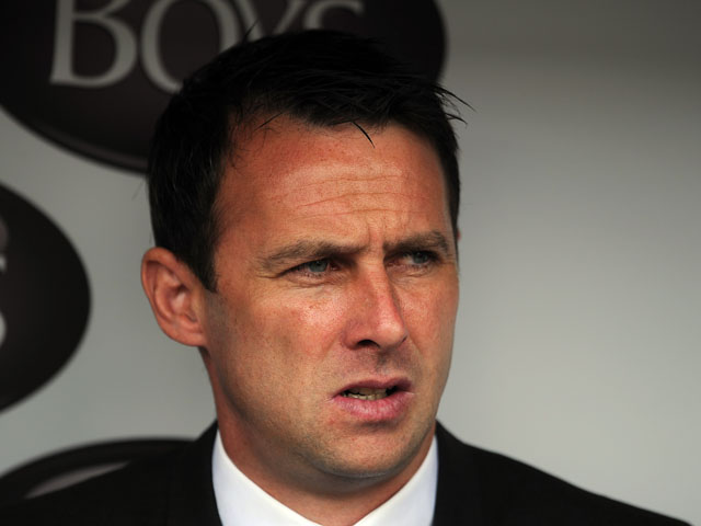 Bolton Wanderers manager Dougie Freedman looks on during the Sky Bet Championship match between Burnley and Bolton Wanderers at Turf Moor on August 03, 2013