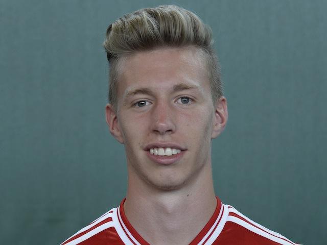 Bayern Munich's Mitchell Weiser at photocall on July 13, 2013