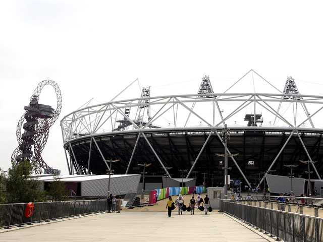 A general view of the Olympic Stadiumon July 21, 2013