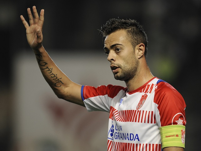 Granada midfielder Dani Benitez on November 9, 2012