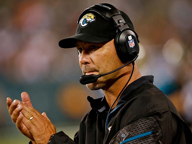 Jacksonville Jaguars head coach Gus Bradley on August 17, 2013