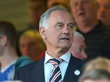 Rangers Chairman Charles Green during the Scottish Communities League Cup First Round match against East Fife at the Ibrox Stadium on August 7, 2012