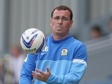 Blackburn boss Gary Bowyer on the touchline during a game with Nottingham Forest on August 10, 2013