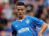 Rangers' Ian Black in action against Newcastle on August 6, 2013