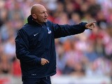Palace manager Ian Holloway on the touchline during the match against Stoke on August 24, 2013