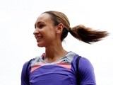 GB athlete Jessica Ennis-Hill at the Diamond League meeting on July 27, 2013