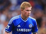 Kevin De Bruyne of Chelsea looks on during the Barclays Premier League match between Chelsea and Hull City at Stamford Bridge on August 18, 2013