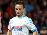 Marseille's Mathieu Valbuena in action against Guingamp on August 11, 2013