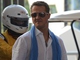German F1 driver Michael Schumacher photographed in Bangkok on December 16, 2012