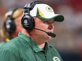 Packers coach Mike McCarthy on the sideline against St Louis on August 17, 2013