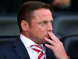 Doncaster manager Paul Dickov prior to kick off against Wigan on August 20, 2013