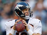 Denver Broncos' Peyton Manning in action against Seattle Seahawks on August 17, 2013