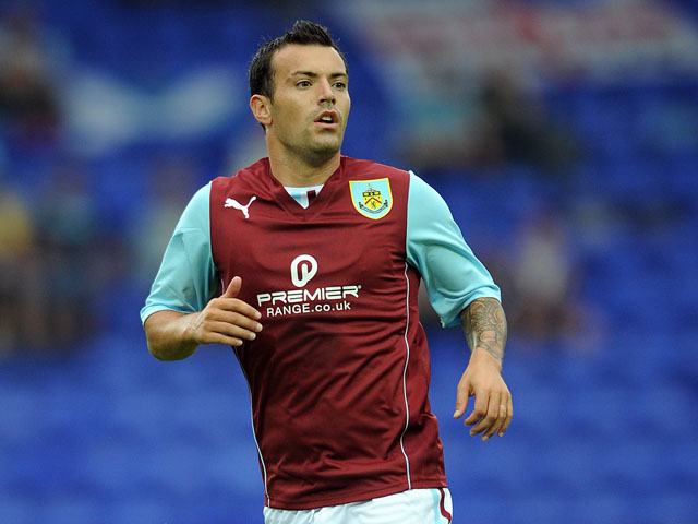 Ross Wallace of Burnley in action during the pre season friendly match between Tranmere Rovers and Burnley at Prenton Park on July 23, 2013
