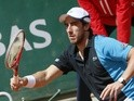 Pablo Cuevas in action on May 29, 2013