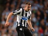 Newcastle's Paul Dummett in action against Manchester City on August 19, 2013
