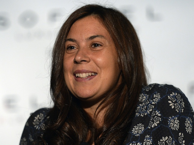 Marion Bartoli at a press conference on August 25, 2013
