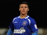 Ipswich's Josh Carson in action against Doncaster on November 5, 2011