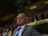 Kevin Blackwell of Bury looks on during the Sky Bet League One match between Coventry City and Bury at Sixfields on August 25, 2013