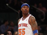 New York Knicks' Quentin Richardson in action against Atlanta Hawks on April 17, 2013