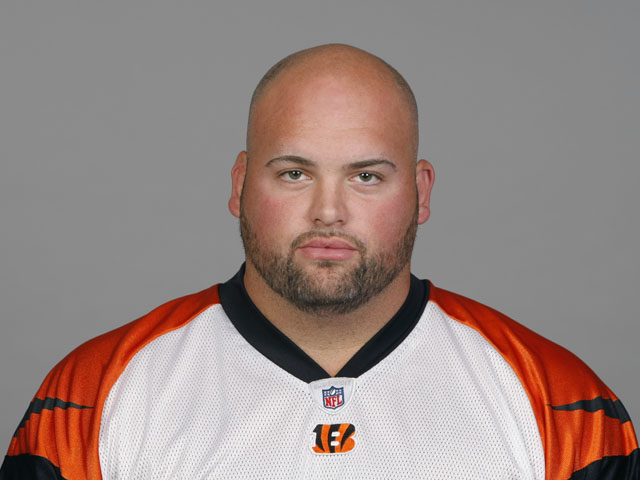 Andrew Whitworth of the Cincinnati Bengals poses for his NFL headshot circa 2011