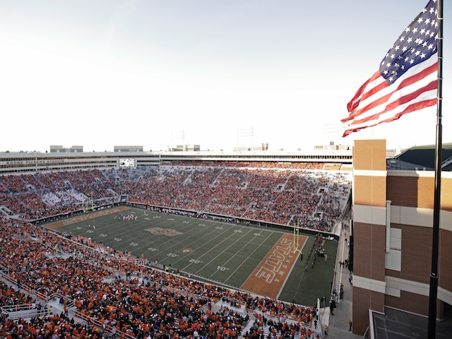 Boone Pickens Stadium pictured on November 17, 2012