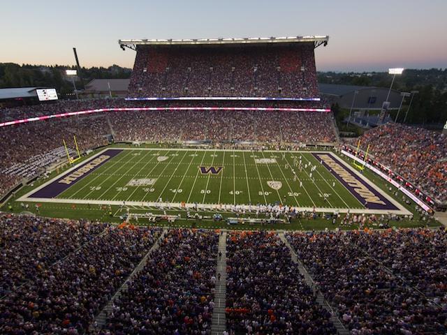 Husky Stadium on August 31, 2013