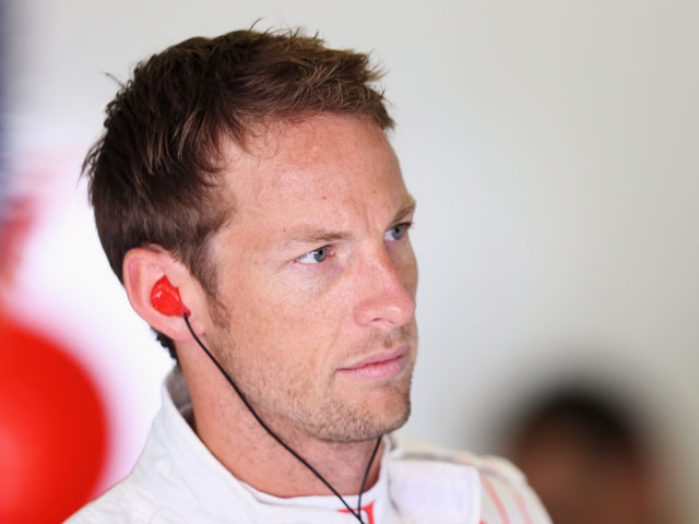 Jenson Button of Great Britain and McLaren prepares to drive during practice for the Hungarian Formula One Grand Prix at Hungaroring on July 26, 2013