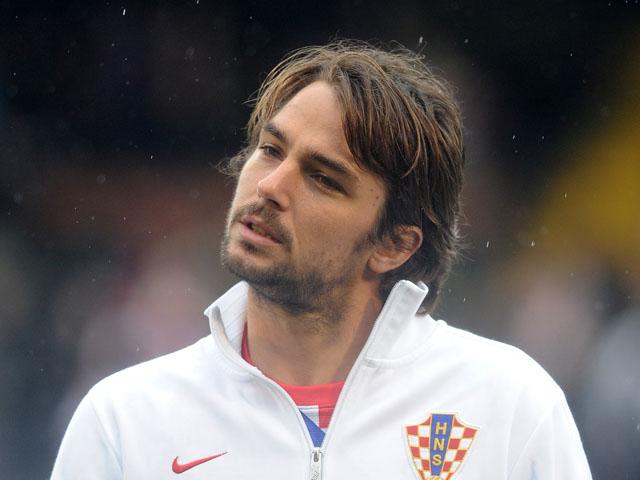 Niko Kranjcar of Croatia during the International Friendly match between Croatia and Korea Republic at Craven Cottage on February 6, 2013