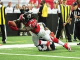 Falcons' Steven Jackson scores a touchdown against St Louis on September 15, 2013