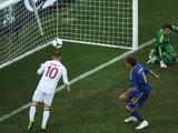 Wayne Rooney scores against Ukraine at the European Championships in June 2012.