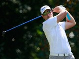 Henrik Stenson in action during day one of the Tour Championship on September 19, 2013