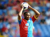 Kagisho Dikgacoi of Crystal Palace during a Pre Season Friendly between Crystal Palace and Lazio at Selhurst Park on August 10, 2013