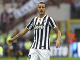 Leonardo Bonucci of Juventus FC looks on during the Serie A match between FC Internazionale Milano and Juventus FC at San Siro Stadium on September 14, 2013