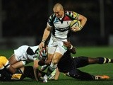 Harlequins' Mike Brown in action against Worcester Warriors on September 20, 2013