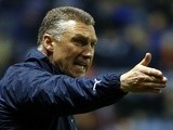 Leicester boss Nigel Pearson on the touchline on March 29, 2013
