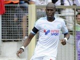 Marseille's French defender Rod Fanni runs with the ball during the French L1 football match Toulouse vs Marseille on September 14, 2011