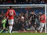 United striker Wayne Rooney opens the scoring against Bayer Leverkusen on September 17, 2013