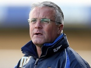 Port Vale boss Micky Adams on October 27, 2012