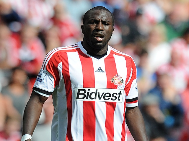 Sunderland forward Jozy Altidore in action against Fulham on August 17, 2013