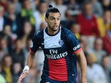 Paris Saint-Germain's Argentinian midfielder Javier Pastore runs with the ball during the football match between Nantes and Paris Saint-Germain on August 25, 2013