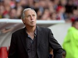 Lille's French coach Rene Girard attends the French L1 football match Lille vies Evian TG on September 24, 2013