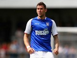 Ipswich's Daryl Murphy in action against Barnet during a friendly match on July 20, 2013